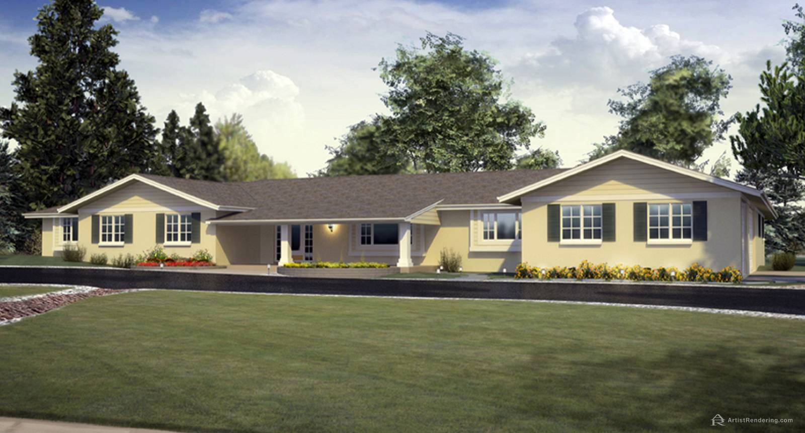 Residential Perspective Renderings
