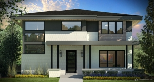 South York Street Front Elevation Rendering